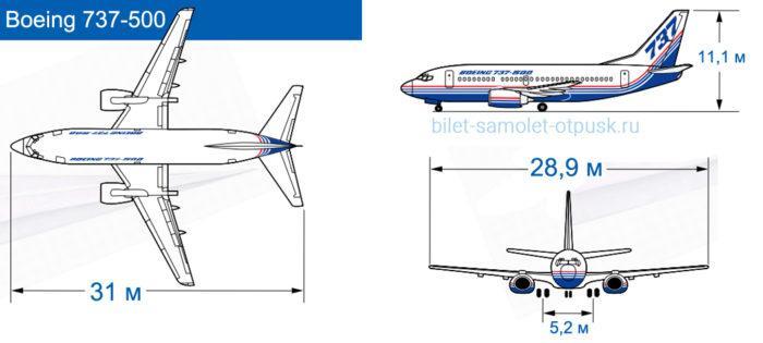 Особенности боинга 737 500 и правильный выбор места для комфортного полета