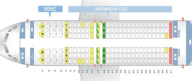 Обзор боинга 737 800 и схемы посадочных мест