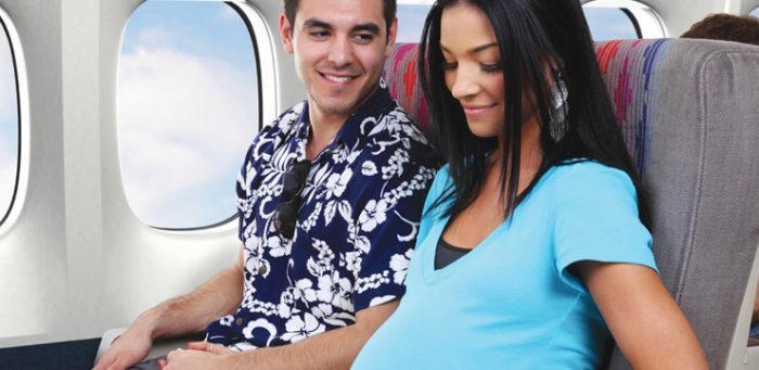 На каком сроке беременности безопасно летать в самолёте