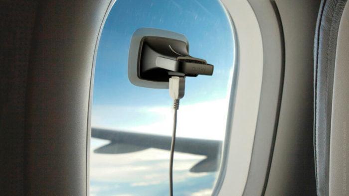 Зарядка в самолете